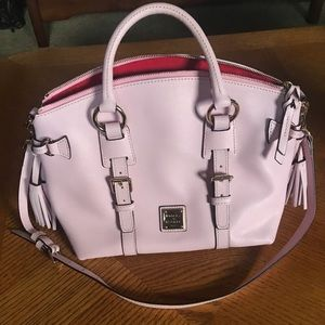 Rare Pink Dooney and Bourke Florentine Satchel
